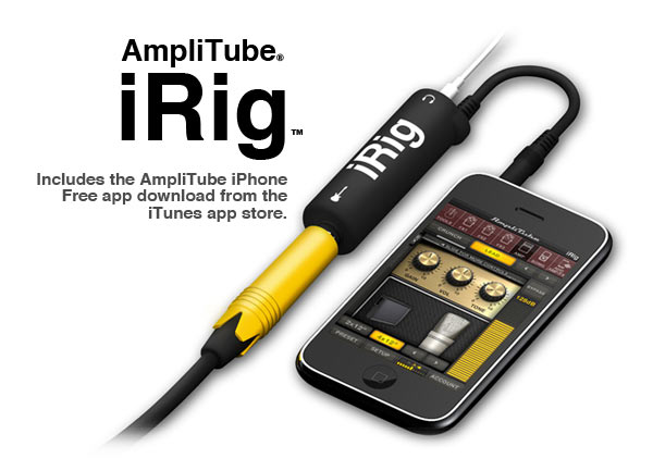 iPhoneがギター・アンプになるアプリ「irig」