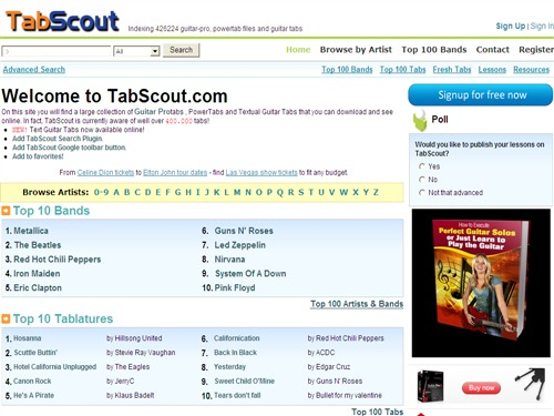 Tab Scout