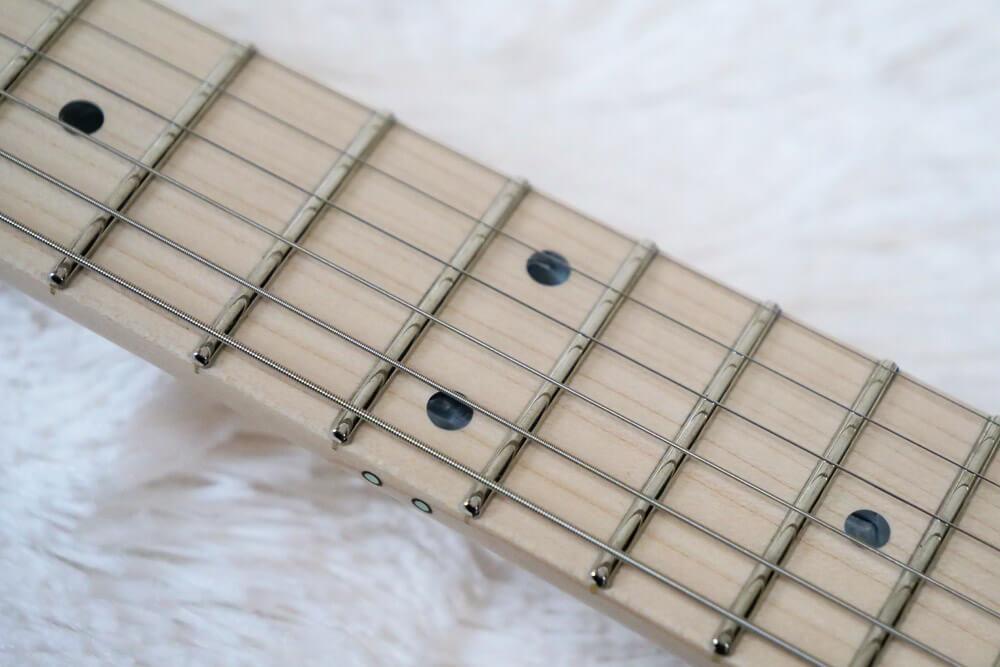 フジゲンギター・指板