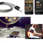 iPhoneやiPadにつなぐ専用のギター・ケーブル