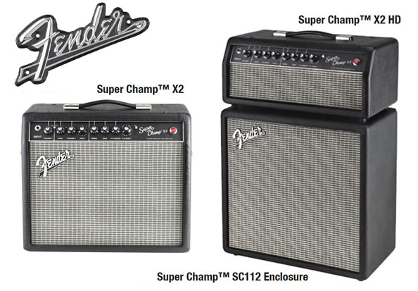Fender Super Champ X2 Combo/Head & Enclosure