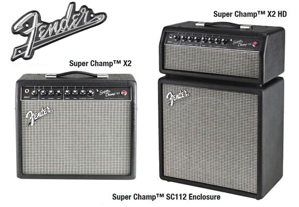 Fender Super Champ X2 Combo/Head & Enclosure