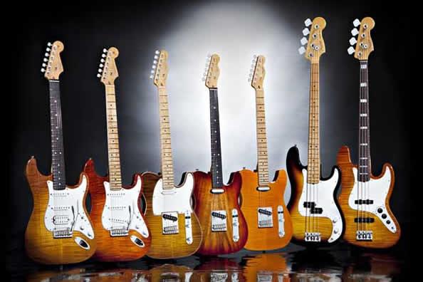 Fender Select シリーズ