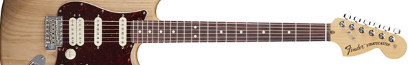 STRATOCASTER HSS:NATURAL/ROSEWOOD