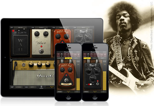 AmpliTube Jimi Hendrix for iOS