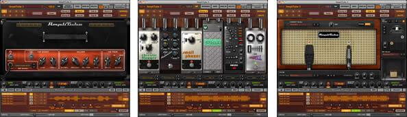 AmpliTube 3 の画面