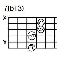 7(b13)6