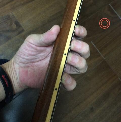 親指の握り方