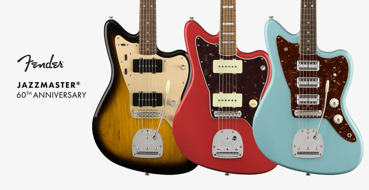 LIMITED EDITION 60th ANNIVERSARY JAZZMASTER