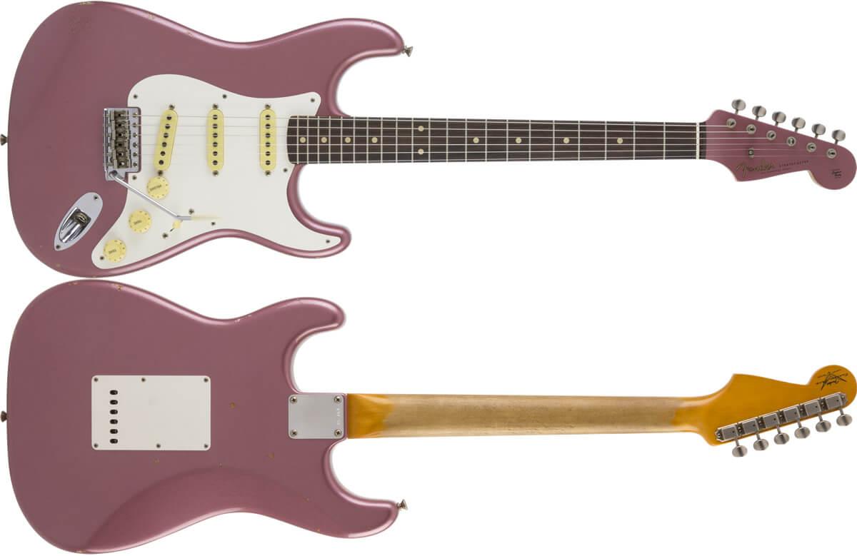Char 1959 Stratocaster Burgundy