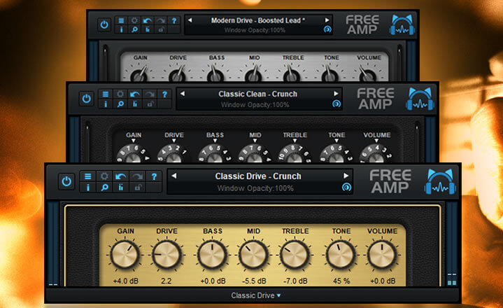 Blue Cat Audio「Free Amp」