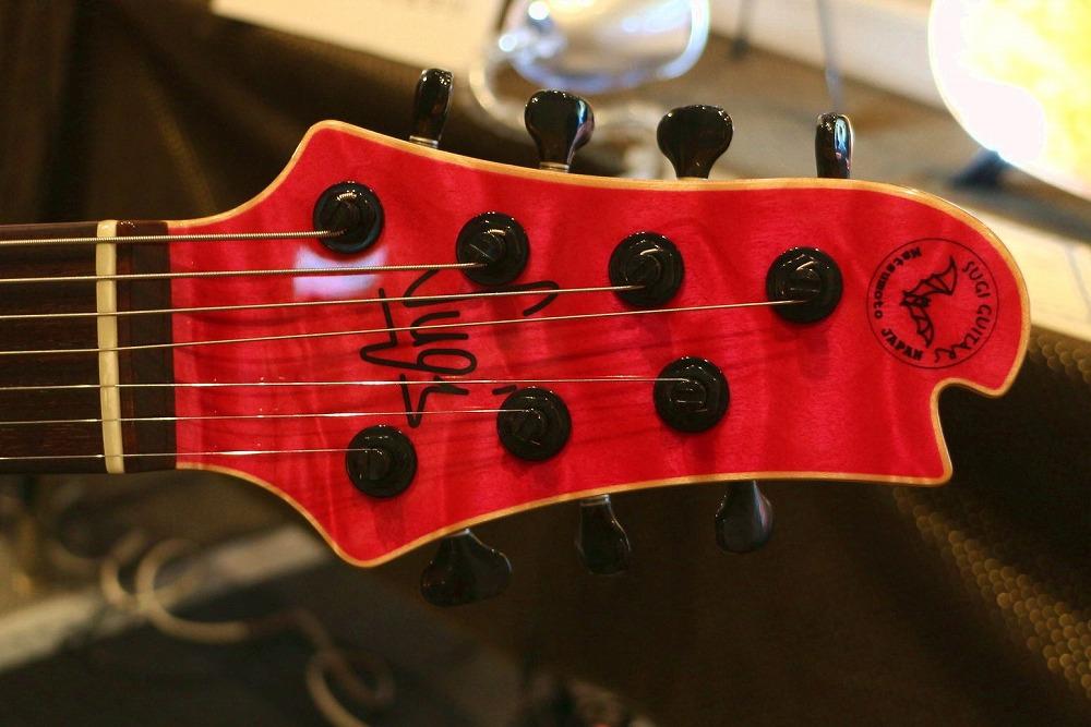 Sugi Guitars:7弦ヘッド