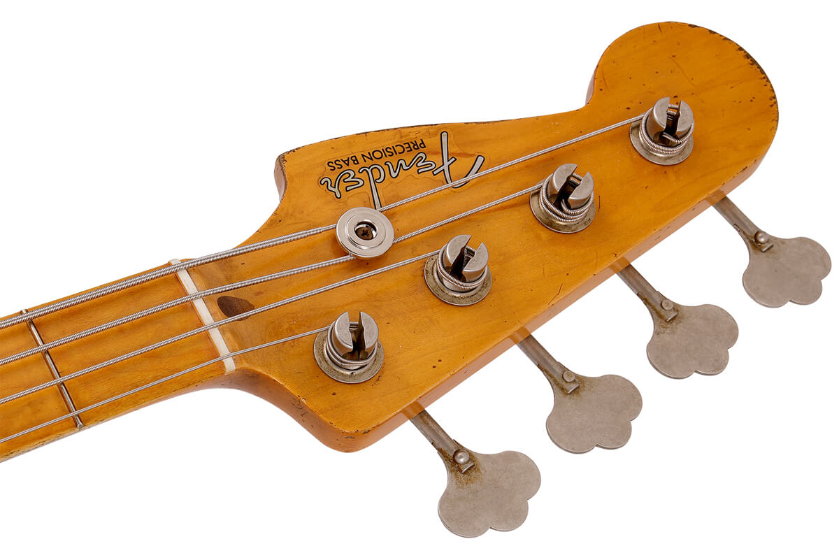 J Signature Precision Bass:ヘッド