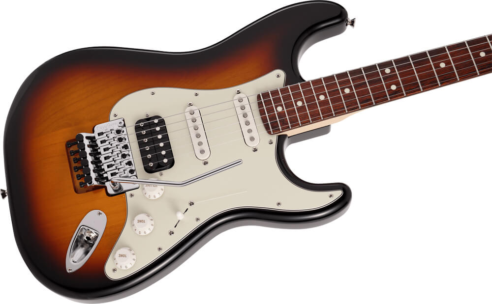 Made in Japan Limited Stratocaster with Floyd Rose:ボディ