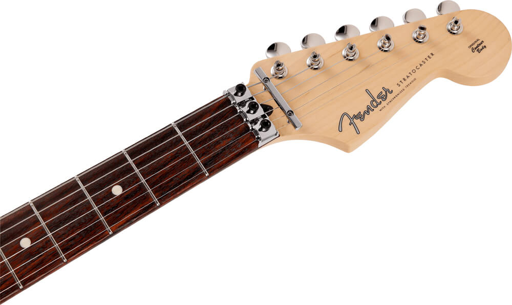 Fender Made in Japan Limited Stratocaster with Floyd Rose:ヘッド