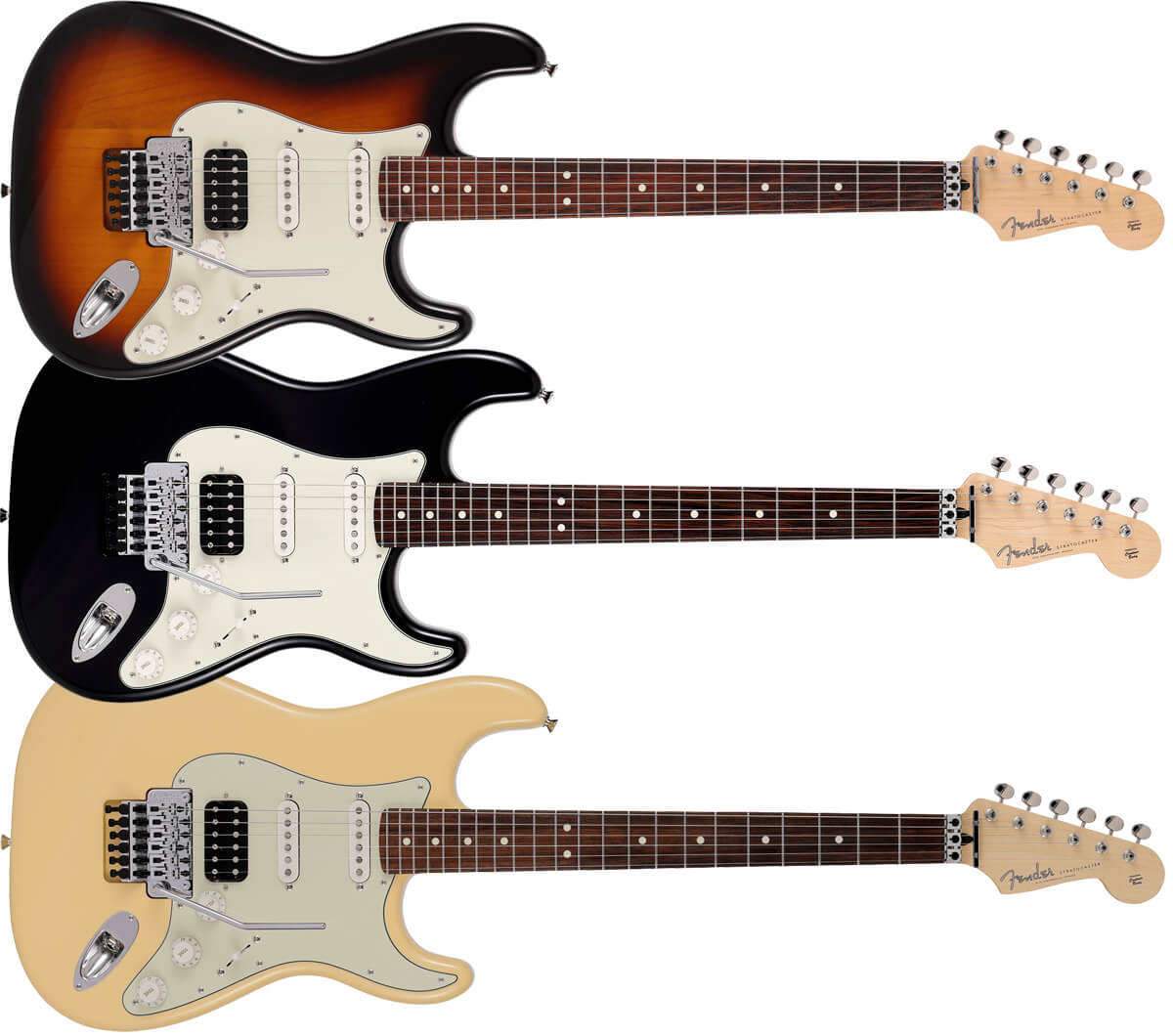 Fender Made in Japan Limited Stratocaster with Floyd Rose