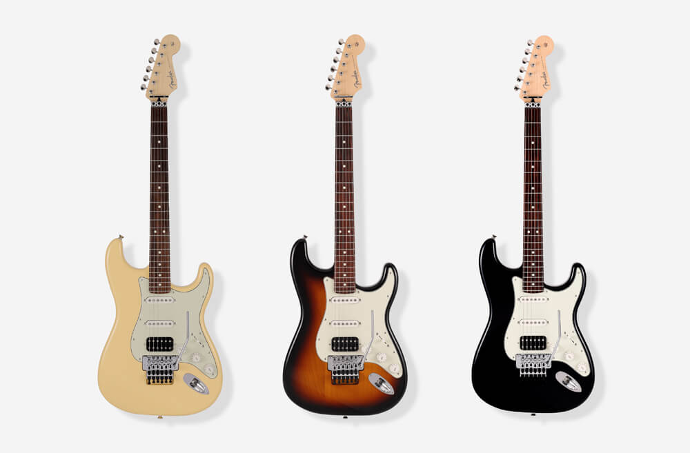 Made in Japan Limited Stratocaster with Floyd Rose