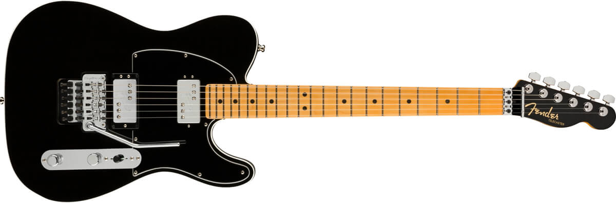 Fender American Ultra Luxe Telecaster Floyd Rose HSS