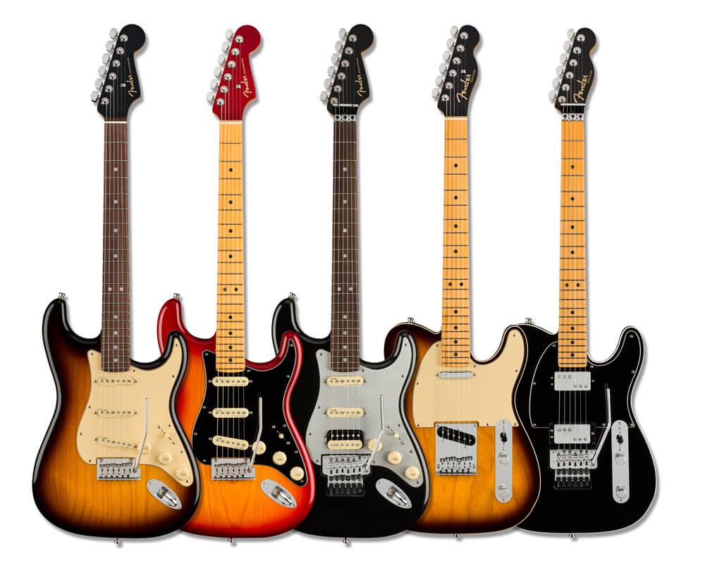 Fender American Ultra Luxeシリーズ